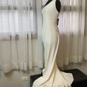f15b22308ae7 Lulu's Dresses   Brittany White Oneshoulder Maxi Dress   Poshmark